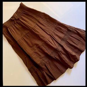 Gymboree Brown Maxi Skirt for Girls